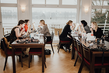 Visagistin Bonn Schminken Lernen Make-up Workshop